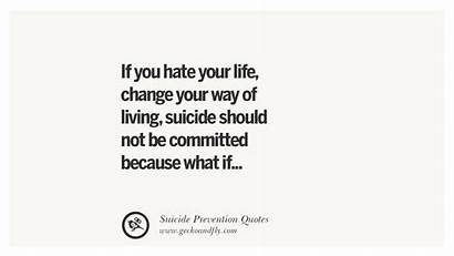 Suicide Prevention Quotes Suicidal Thoughts Helpful Committed