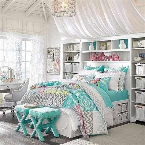 teenage bedroom ideas suitable   girl