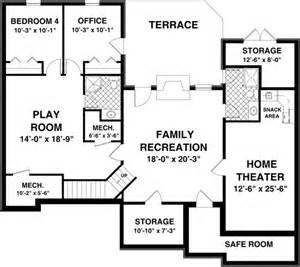 House Floor Plans with Basement