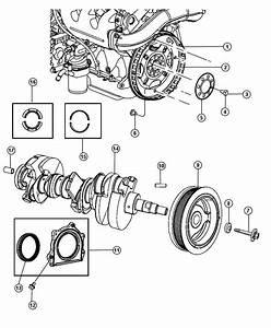 2007 Jeep Wrangler Flywheel  Manual Transmission  Engine