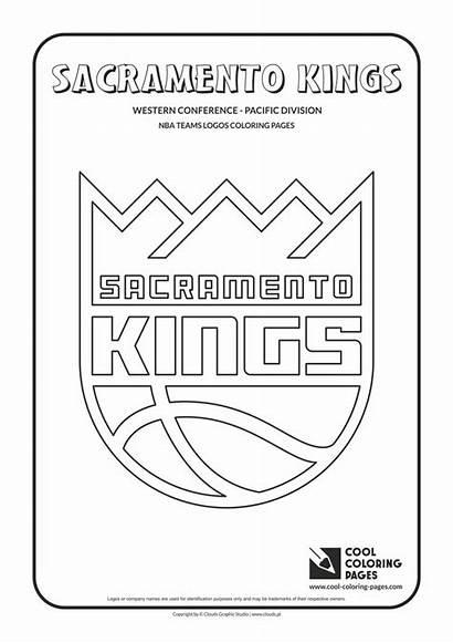 Nba Coloring Pages Basketball Teams Logos Cool