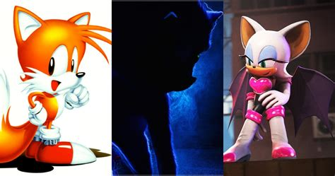 10 Sonic Characters We Hope To See In The Movie Screenrant