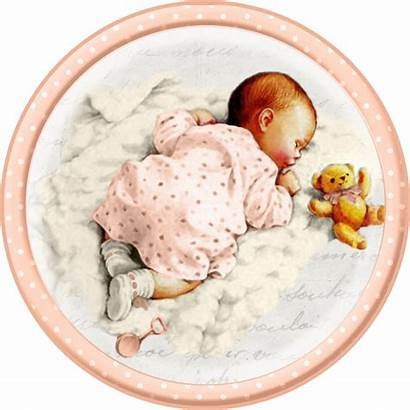 Babies Sleeping Printable Toppers Labels Cards Ac