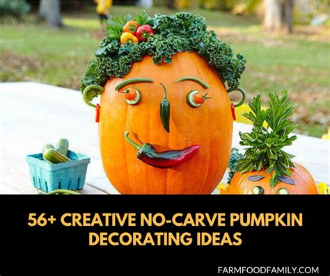 amazing  carve pumpkin decorating ideas farmfoodfamily
