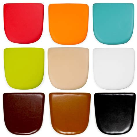 coussin rond pour chaise faux leather seat pads for tolix style chairs cult furniture