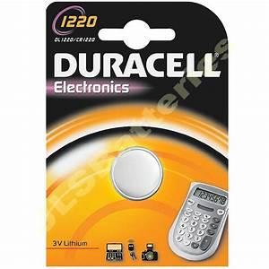 DL1220 DURACELL Lithium Battery CR1220 1220 KCR1220   eBay