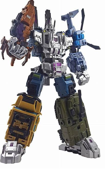 Giant War Iron Factory Bruticus Toy Transformers