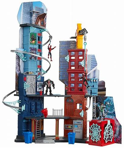 Spider Homecoming Toys Hasbro Playset Marvel Mega