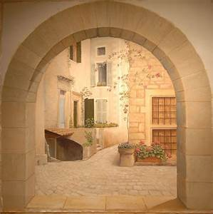 Image Trompe L Oeil : trompe l oeil murals trompe l oeil murals tromp l 39 oeil ~ Melissatoandfro.com Idées de Décoration