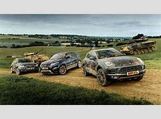 Porsche Macan vs Audi SQ5 vs Evoque
