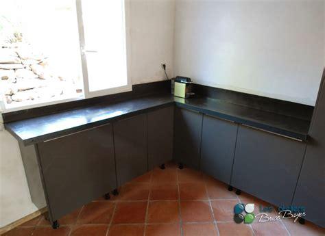 sol cuisine béton ciré plan de travail en beton cire meilleures images d