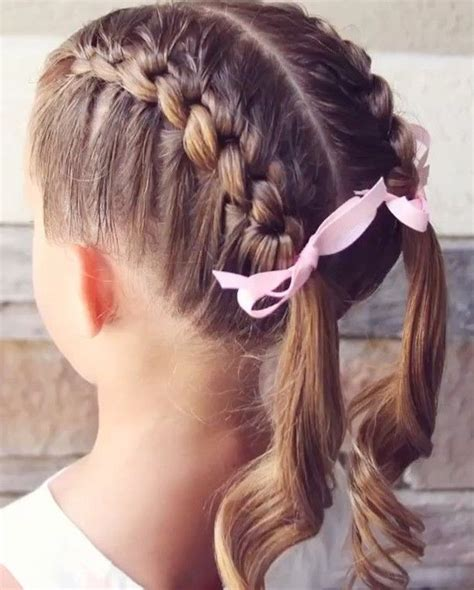 ideas   girl hairstyles  pinterest
