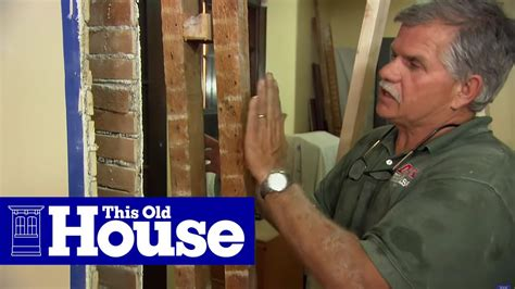 remove  load bearing wall   house youtube