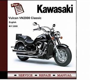 Kawasaki Vn2000 Classic 2008 Workshop Service Repair
