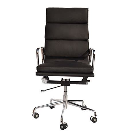 eames ea219 office chair replica leather soft pad computer