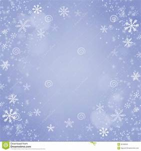 Christmas Snowflakes Background. Holiday Blue Card Stock ...