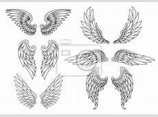 Fototapeta Heraldyczne skrzydła ustawione na wymiar