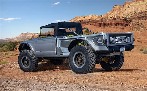 Jeep M715 Concept by 2020 Jeep Gladiator Truck Dominates 2019 Easter