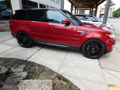 red land rover 2016 firenze red metallic land rover range rover sport hse
