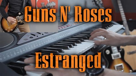 Estranged [guitar & Piano Cover] Full Hd