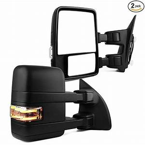 Ford Towing Mirrors  Ford Manual Telescoping Folding With