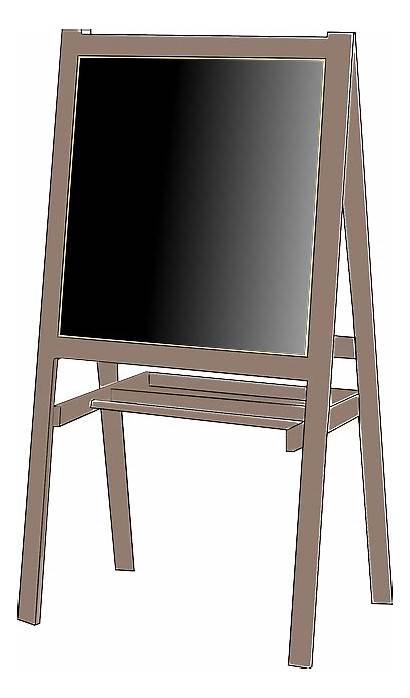 Blackboard Chalkboard Easel Stand Noir Tableau Pixabay