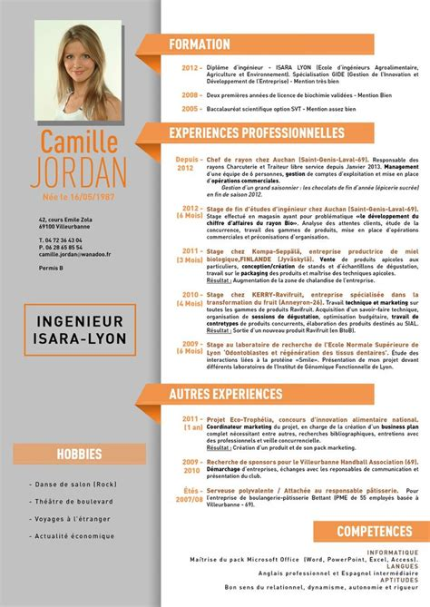 Mise En Page Cv Gratuit by Mise En Page Cv Open Office Up83 Jornalagora