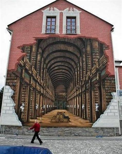 3d paintings on wall building art netdog 06