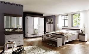 Schlafzimmer Komplett Weiß : massivholz schlafzimmer set komplett kiefer massiv wei kolonial ~ Orissabook.com Haus und Dekorationen