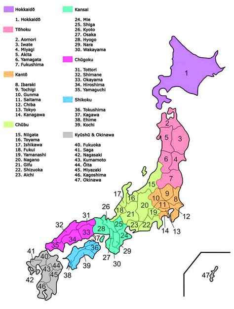 map  japan regions  cities japan   japan