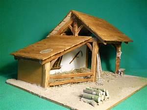 Creche De Noel En Bois A Faire Soi Meme : fabriquer un decor de creche de noel ~ Dallasstarsshop.com Idées de Décoration