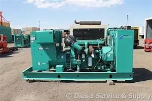 Available  Cummins 230 Kw Standby Diesel Generator  Year 2005  1183 Hours  277  480 Volt  Safety