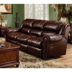 lane sidney leather double reclining sofa sam s club