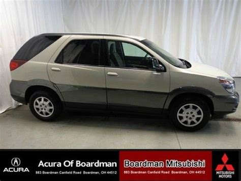 Buick Rendezvous Transmission Problems by Buy Used 2003 Gold Buick Rendezvous Cx Awd Suv Clean Title