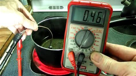 engine coolant temperature sensor resistance checking