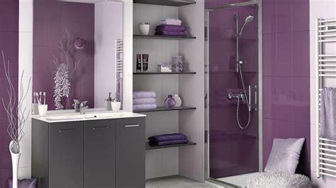 d o chambre violet gris et noir salle de bain violet salle de bain prune et gris