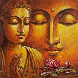 Buy Painting Buddha Artwork No 11407 by Indian Artist ...