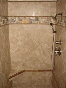 bathroom tile ideas casual cottage With ideas for shower tile designs