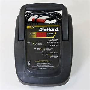 Diehard 6v    12v Battery Charger  U0026 Engine Starter 28 71225