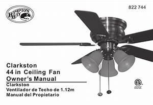 Intertek Ceiling Fan Manual