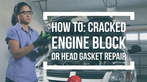 how to refurbish a how to repair a engine block or gasket with k
