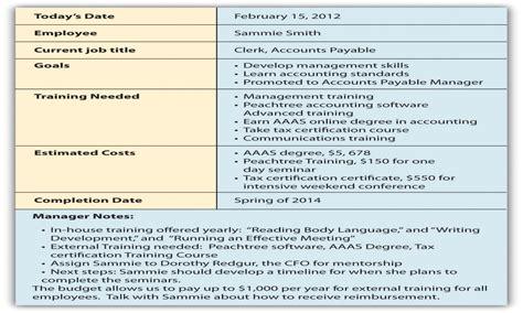 employee career development plan template 5 year career plan template house plan types