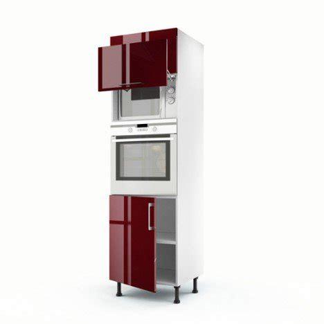 meuble de cuisine colonne 3 portes griotte h 200 x l