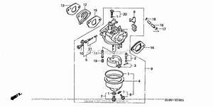 Honda Engines Gxv140 N2tb Engine  Usa  Vin  Gjab