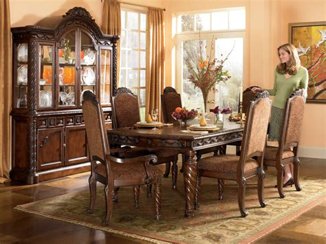 how to set a dining room north shore rectangular dining room set ogle furniture