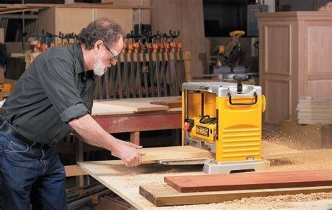 wood planer reviews  benchtop thickness