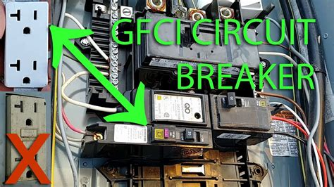 How Install Ground Fault Circuit Breaker Replace