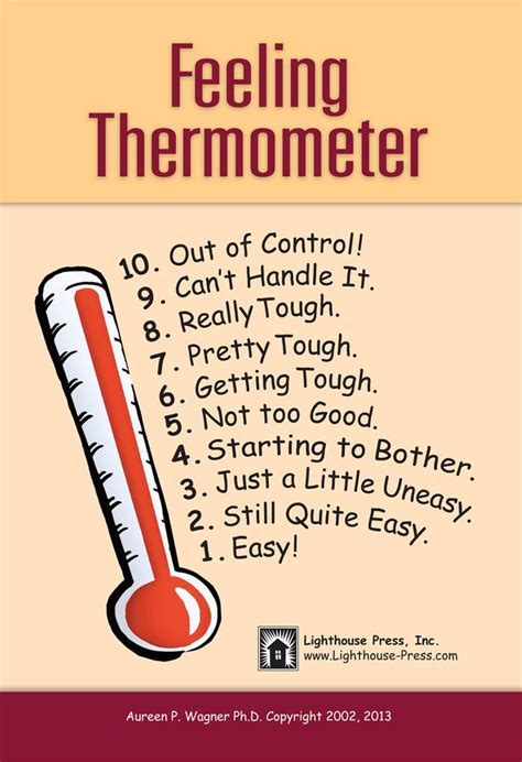 feeling thermometers medium lighthouse press