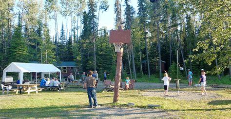 woman river camp northwest ontario  canada fishing trip