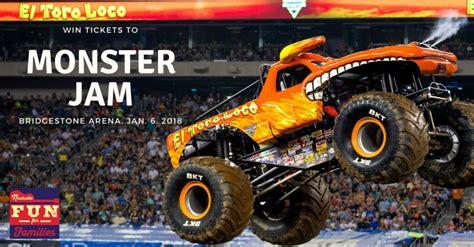 monster truck jam tickets win 4 free tickets to monster jam 2018 nashville tn